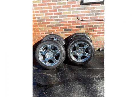 Corvette Tires & Wheels